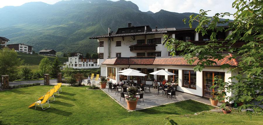 Hotel Büntali, Galtür, Austria - Terrace.jpg